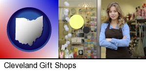 Cleveland, Ohio - a gift shop proprietor