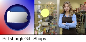 a gift shop proprietor in Pittsburgh, PA